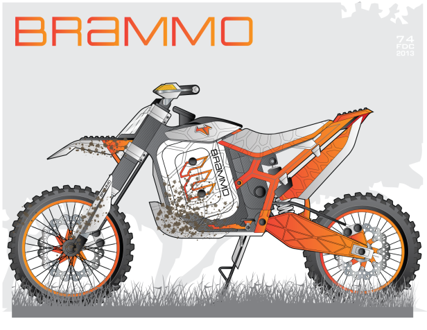 Brammo Single ORANGE-01