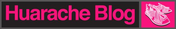Huarache Blog Logo PINK Banner