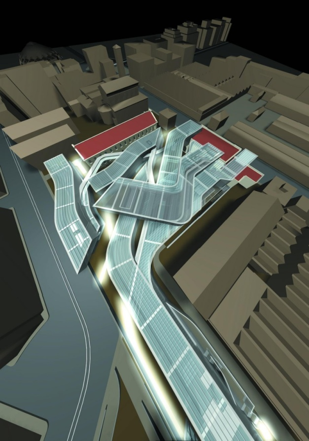National Museum of the XXI Century Arts in Rome Plan