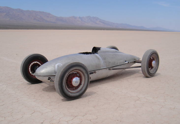 P Gas Tank Race Car