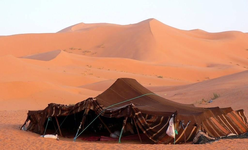 u201cThe Bedouin tent for ex&le shows how simple and elegant-how suited to locale-good design can be. On the move in their migratory rounds the Bedouins ... & The Bedouin Tent u2013 Cool in the day Warm at Night and Dry Under ...