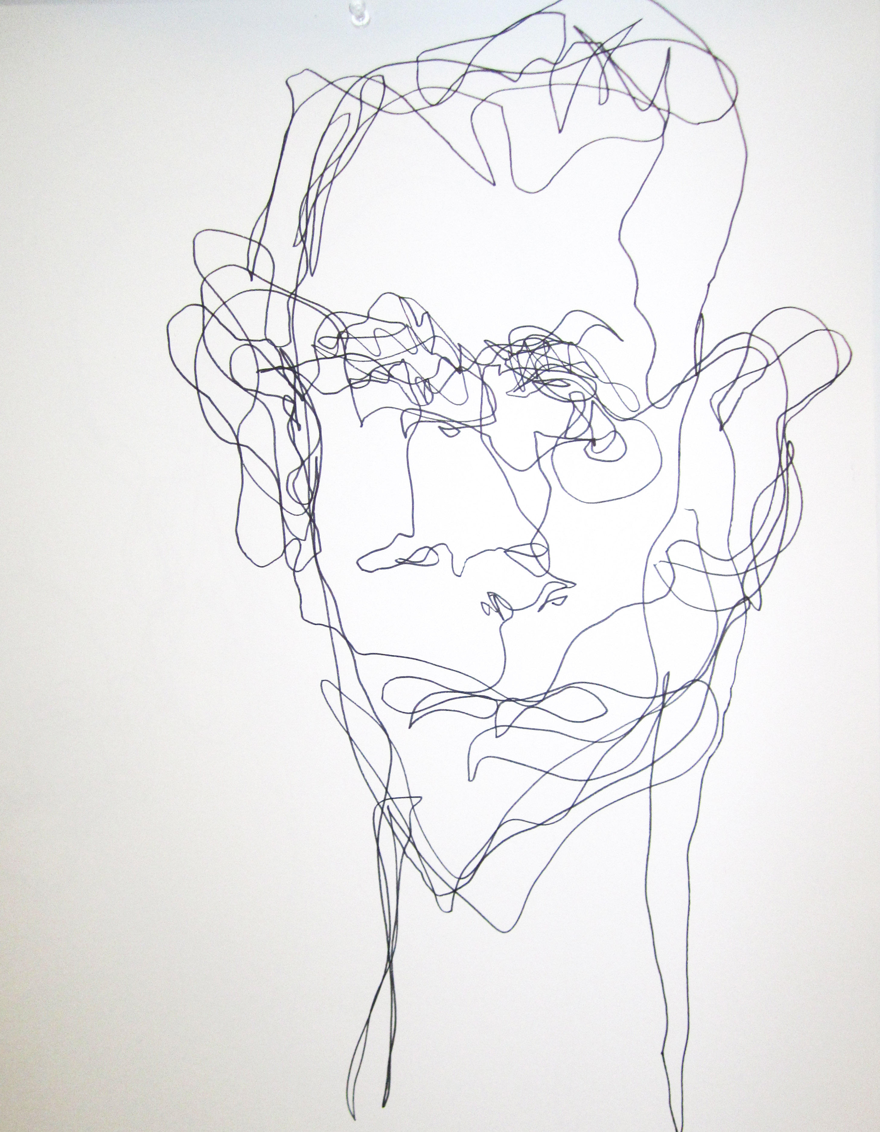 Contour Line Drawing With Wire : Design footwear consulting by markus