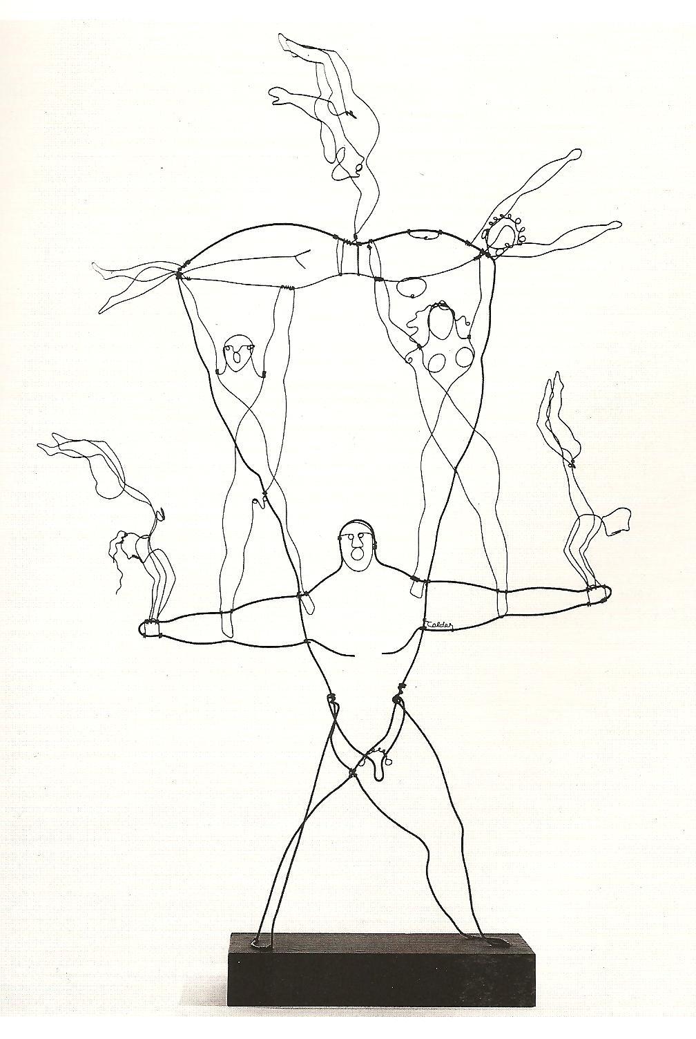 Alexander Calder Circus Drawings Design Blog | 74 FOOTW...
