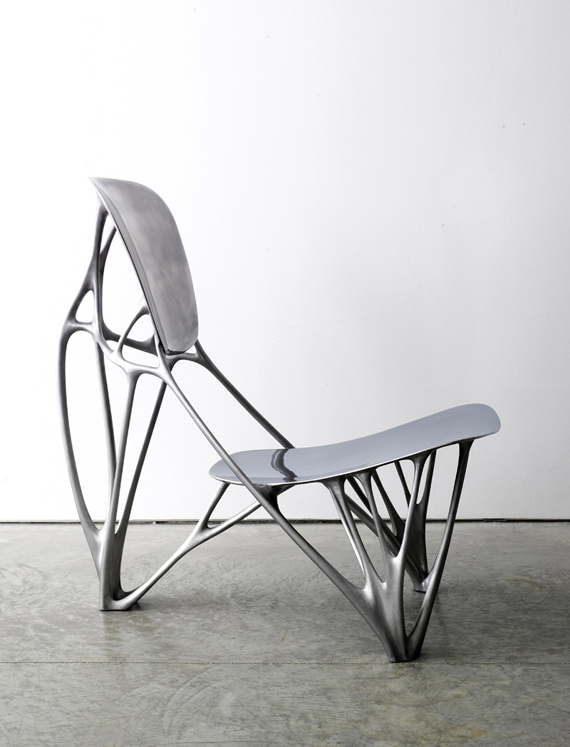 Organic form inspiring new directions in design and for Industrial design chair