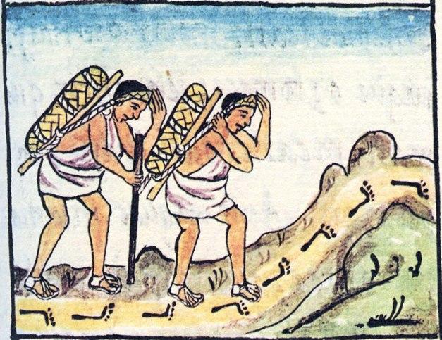 Mecapalero Aztec Merchants