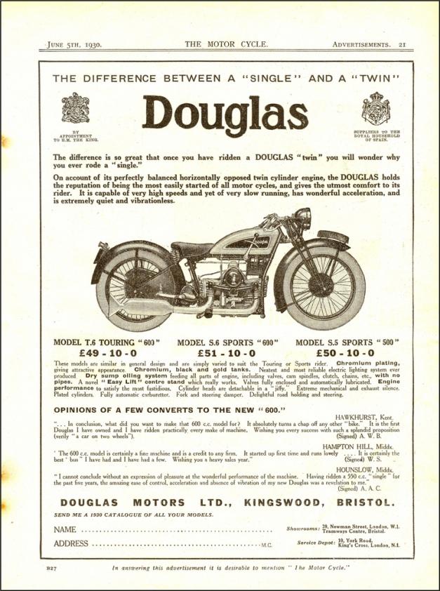 Douglas T6 Ad