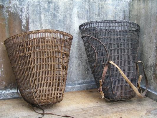 TAMBOK Backpack and Basket