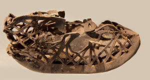 Steve Campbell Vindolanda Roman Shoe