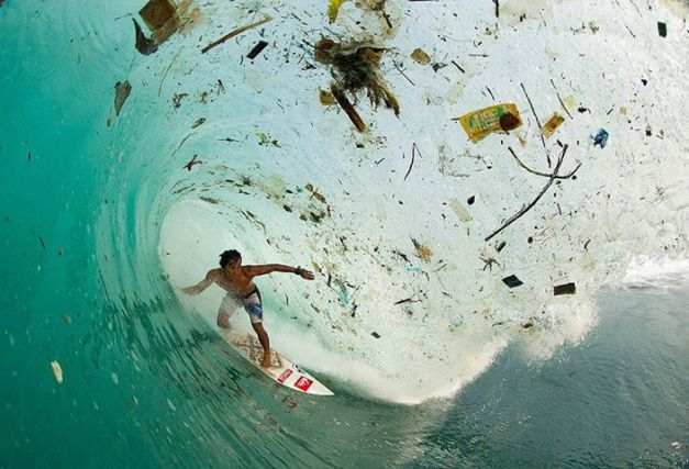 Beach Plastic Surfer