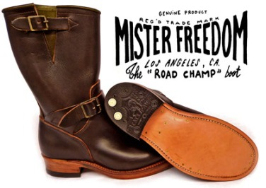 Road Champ Boots 1