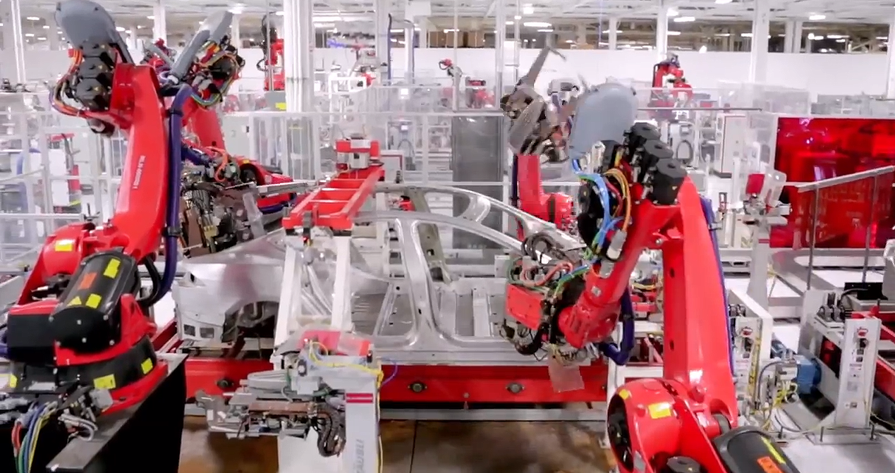 Tesla Model S Advanced Automated Manufacturing 74