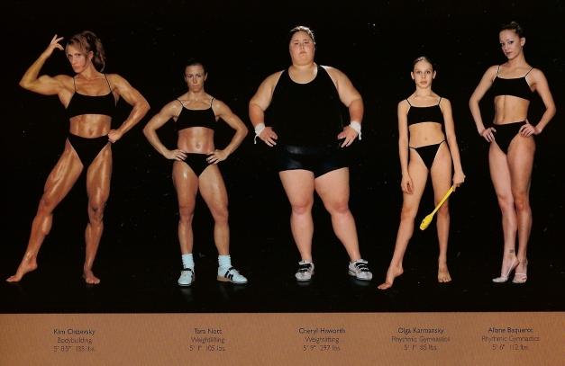 howard-schatz-and-beverly-ornstein-olympic-athlete-body-types-bodybuilding-weightlifting-gymnastics