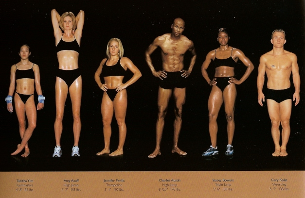 howard-schatz-and-beverly-ornstein-olympic-athlete-body-types-gymnastics-highjump-triplejump