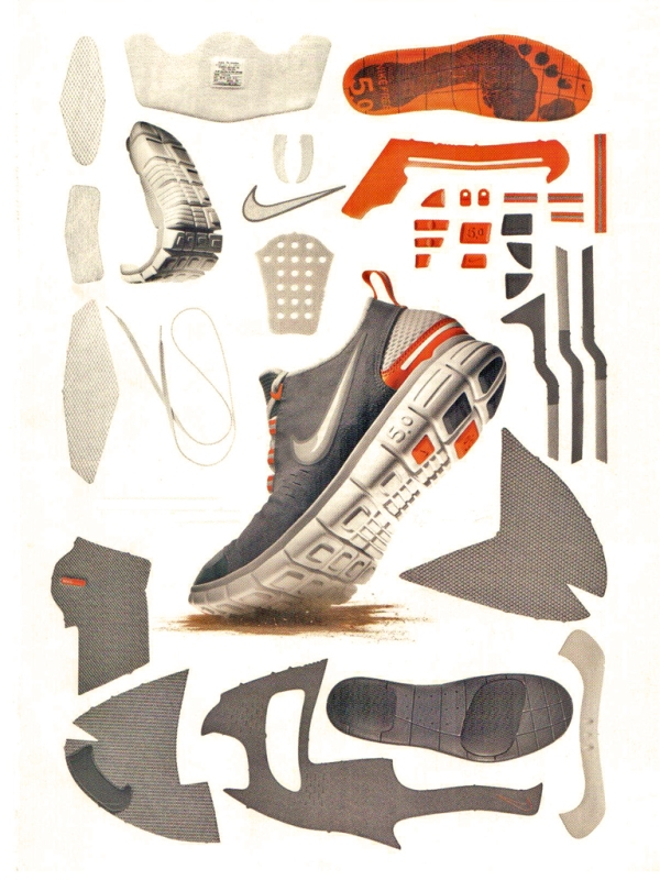Nike Free Components