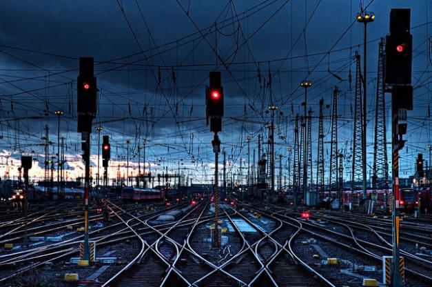 Train Tracks 2