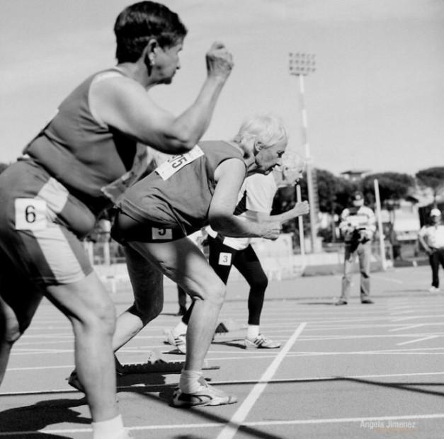 100m Sprinters - 80-84