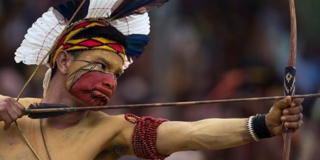APTOPIX Brazil Indigenous Games