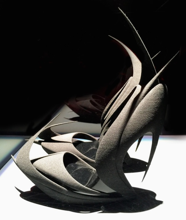 'flames' by zaha hadid for united nude 2