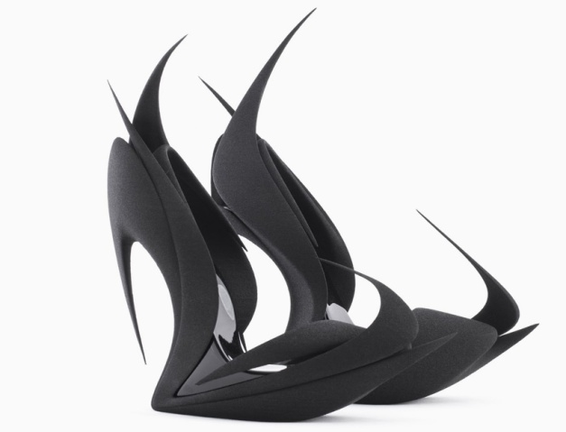 'flames' by zaha hadid for united nude 3