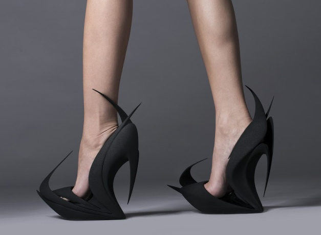 'flames' by zaha hadid for united nude
