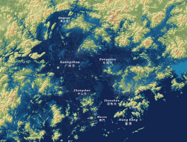Donguan Map After
