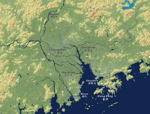 Donguan Map Before