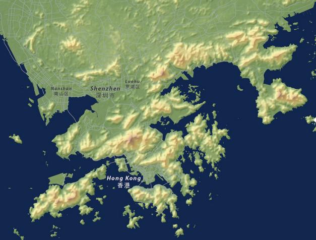 Shenzen Map Before