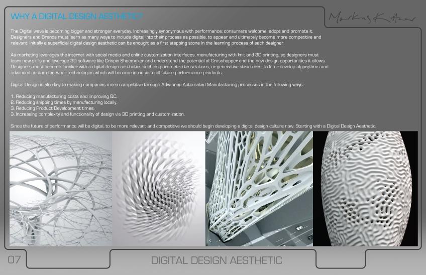 Design PRESENTATION 07 | 74 FOOTWEAR DESIGN CONSULTING